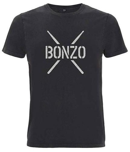 John Bonham T-Shirt BONZO STENCIL