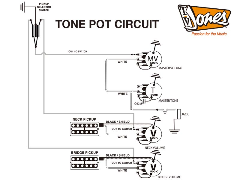 installation tv jones ese official website hot rod circuit tone pot circuit