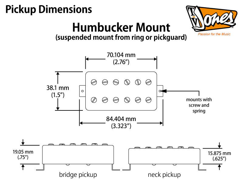 technical specs tv jones japanese official website humbucker single volume wiring humbucker mounting diagram #10