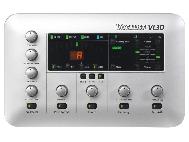 写真:Vocalist Live 3 Desktop