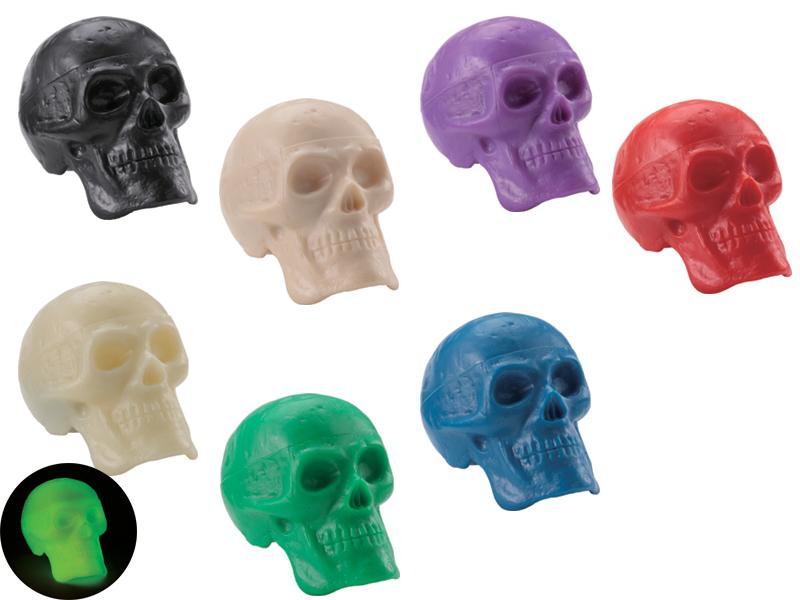 写真:Beadbrain Skull Shaker
