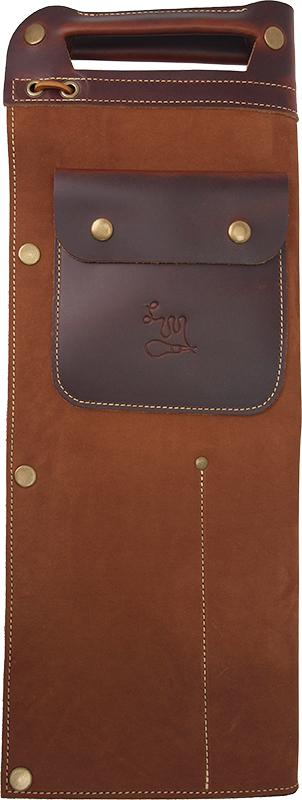 写真:Full Leather Drumstick Bag STB-1 Brown